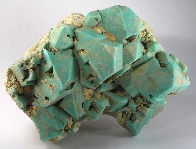 Microcline (Var: Amazonite), Microcline