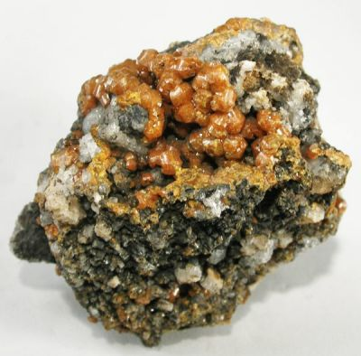 Mimetite (Var: Campylite), Willemite