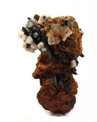 Niobophyllite, Feldspar Group, Aegirine, Zircon