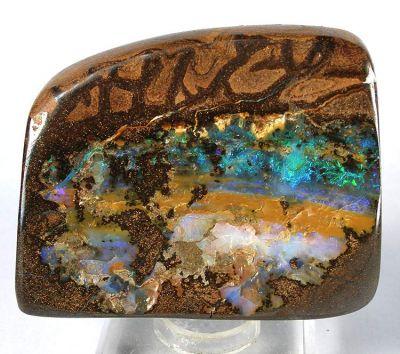 Precious Opal (Var: Boulder Opal)