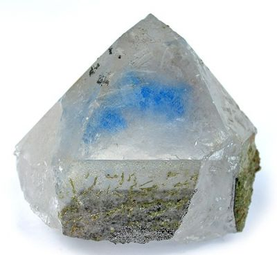 Papagoite, Quartz