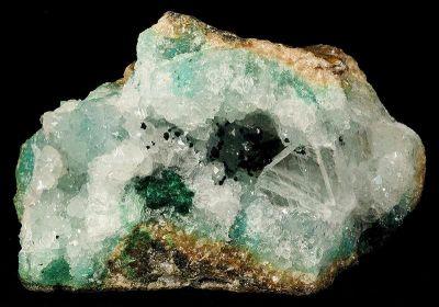 Paratacamite, Gypsum, Quartz