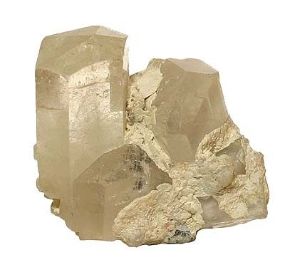 Phenakite, Quartz