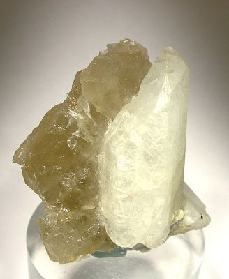Phenakite, Calcite