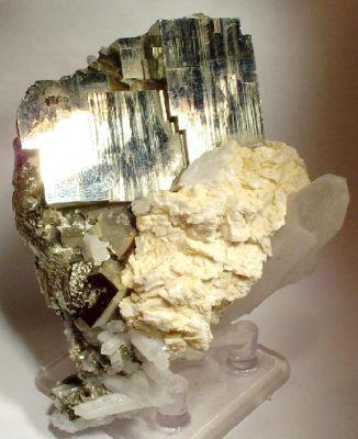 Pyrite, Dolomite, Quartz