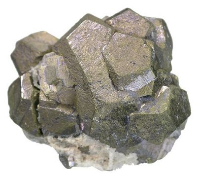 Pyrite, Molybdenite
