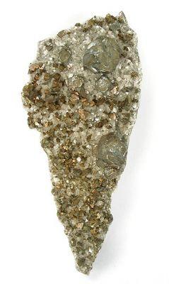 Pyrite, Chalcopyrite, Dolomite