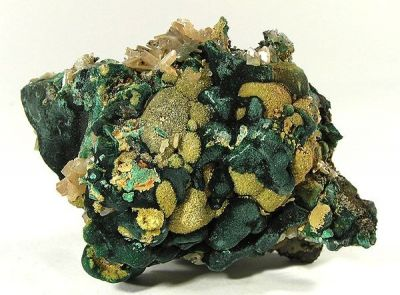 Pyromorphite, Cerussite, Malachite
