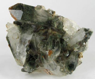 Quartz, Chlorite Group
