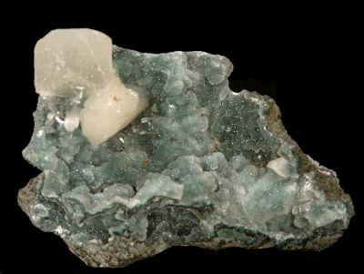 Quartz, Apophyllite, Stilbite