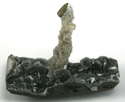 Quartz, Stilbite-Ca