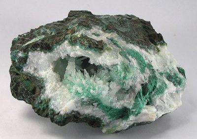 Quartz, Aragonite, Chrysocolla