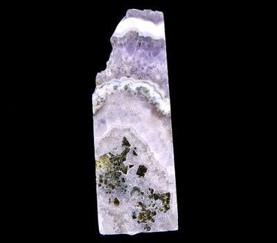 Quartz (Var: Amethyst), Sphalerite
