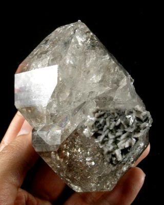 Quartz (Var: Herkimer Diamond), Dolomite