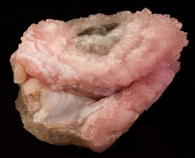 Quartz (Var: Rose Quartz), Quartz (Var: Smoky Quartz)