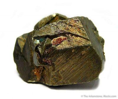 Chalcopyrite (Twinned)