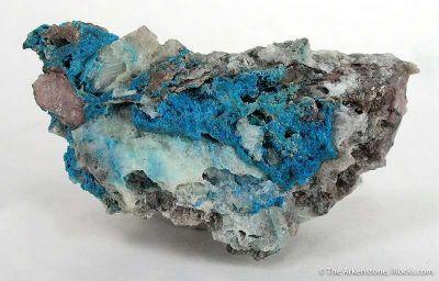 Papagoite (Crystals!)