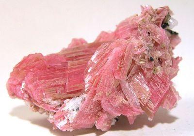 Rhodonite, Quartz, Pyrite, Sphalerite