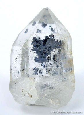 Quartz With Molybdenite Inclusions