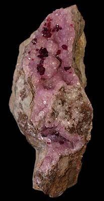 Roselite, Calcite