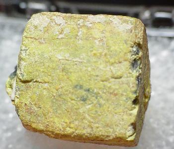 Rutherfordine, Uraninite