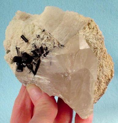 Schorl, Quartz, Albite (Var: Cleavelandite), Microcline