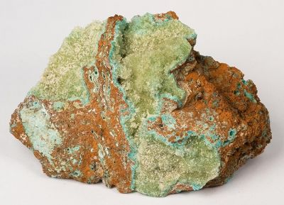 Senegalite, Turquoise