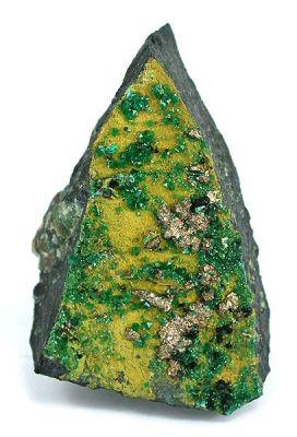 Silver, Adamite (Var: Cuprian Adamite), Ferrilotharmeyerite