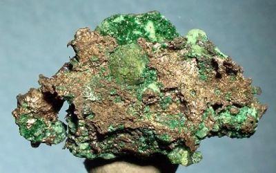 Silver, Dioptase