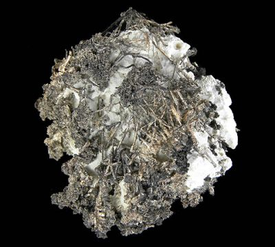 Silver, Calcite