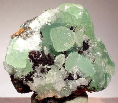 Smithsonite, Hemimorphite