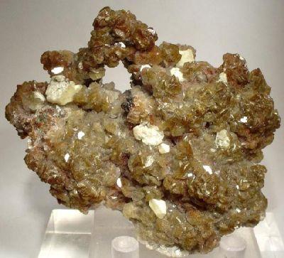 Smithsonite, Aragonite, Aragonite (Var: Plumboan Aragonite)