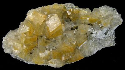 Smithsonite (Var: Cadmian Smithsonite), Cerussite