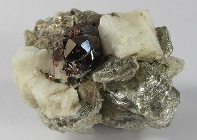 Spessartine, Feldspar Group, Muscovite