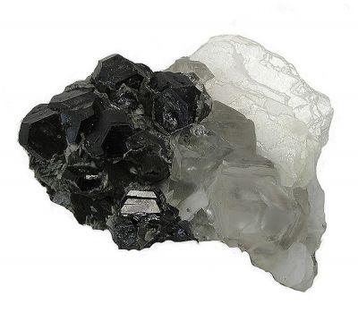 Sphalerite, Calcite, Feldspar Group
