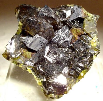 Sphalerite, Chalcopyrite, Galena