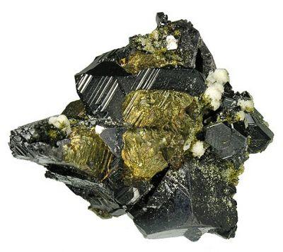Sphalerite, Galena, Chalcopyrite