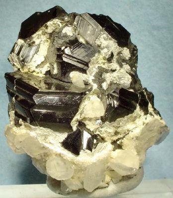 Sphalerite (Var: Marmatite), Calcite