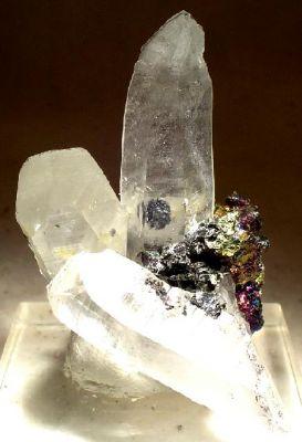 Stannite, Quartz, Chalcopyrite