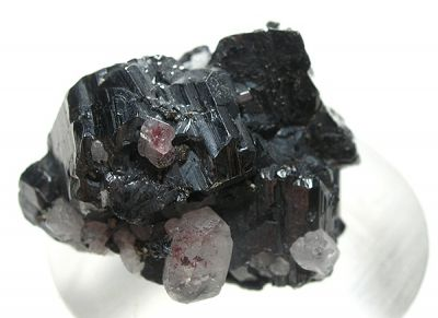 Stephanite, Quartz