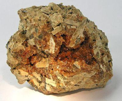 Stilbite, Biotite, Orthoclase
