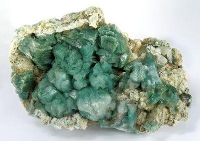 Stilbite-Ca, Heulandite-Ca, Celadonite