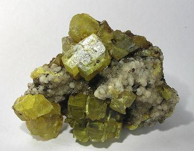 Sulfur, Aragonite