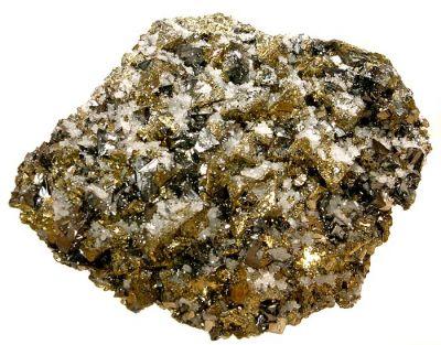 Tetrahedrite, Chalcopyrite, Quartz