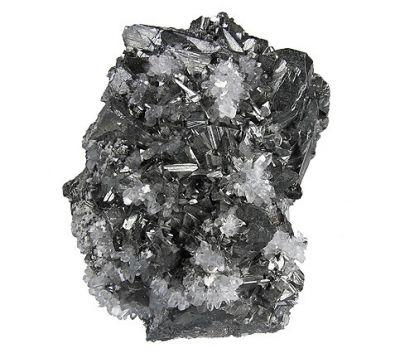 Tetrahedrite, Quartz
