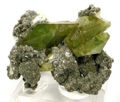 Titanite, Muscovite, Albite
