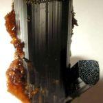 Vesuvianite With Garnet