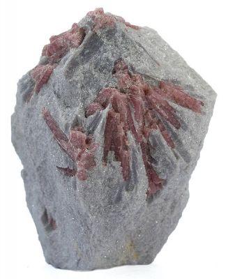 Tourmaline (Var: Rubellite), Lepidolite