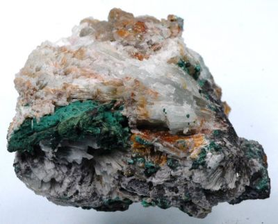 Tsumcorite, Malachite, Aragonite