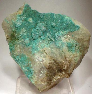 Turquoise, Quartz